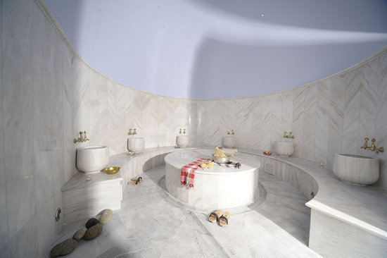 Hammam Baths: Hot room