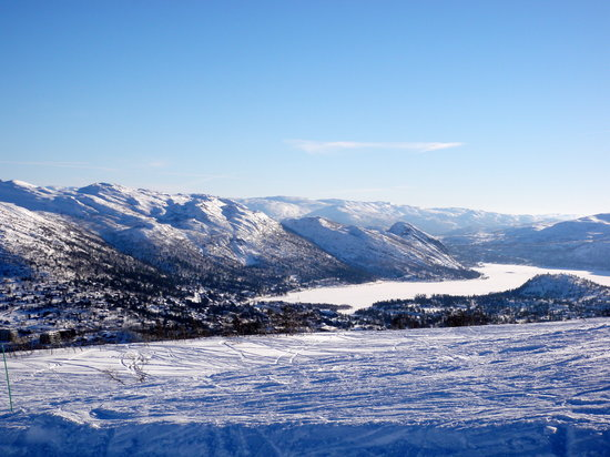 Hovden Alpinsenter: View from the top