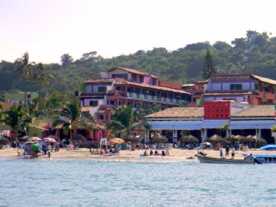 Decameron Los Cocos: Desde el mar
