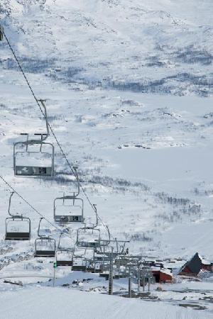 Views from Meteorologen Ski Lodge