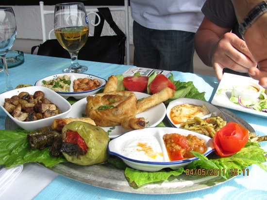 Sofra Terrace Restaurant : meze ( 25 turkish lira)