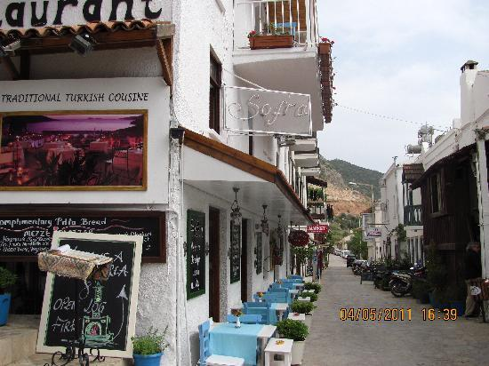 Restorant picture of sofra terrace restaurant kalkan for Terrace 45 restaurant