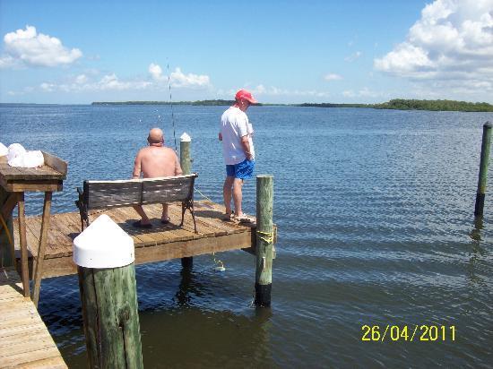 Bayfront Cottage Inn & Boatel : great fishing