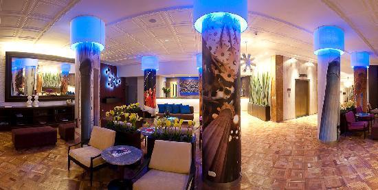 Hotel Augusta: Lobby derecho