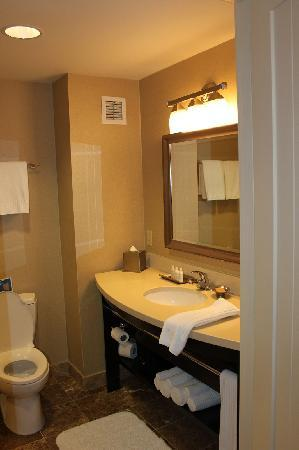 West Inn & Suites Carlsbad: Well appointed bath