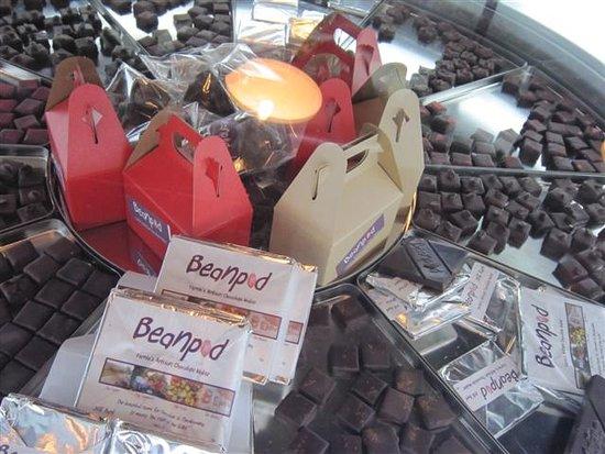 Beanpod Chocolate : a mix of different chocolates