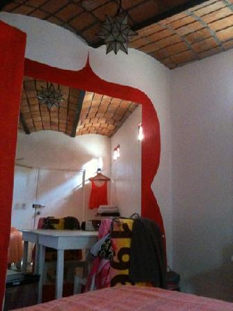 Petit Hotel d'Hafa: inside of room #6