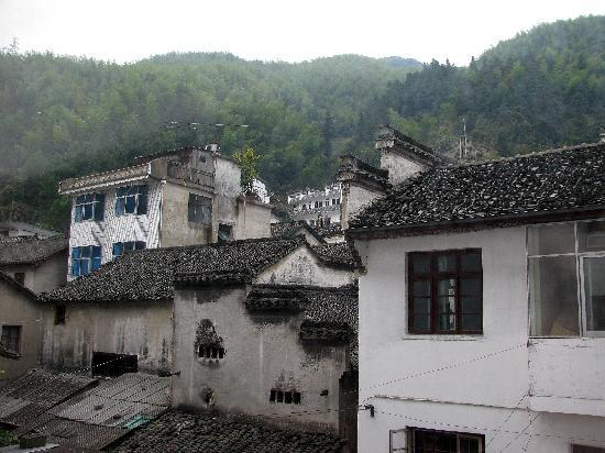 Tangkou Hotel: The view from my room.