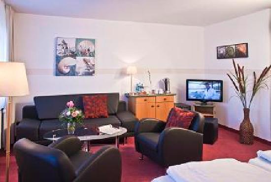 Hotel Deichgraf Cuxhaven: Familienzimmer / 1 Raum Suite