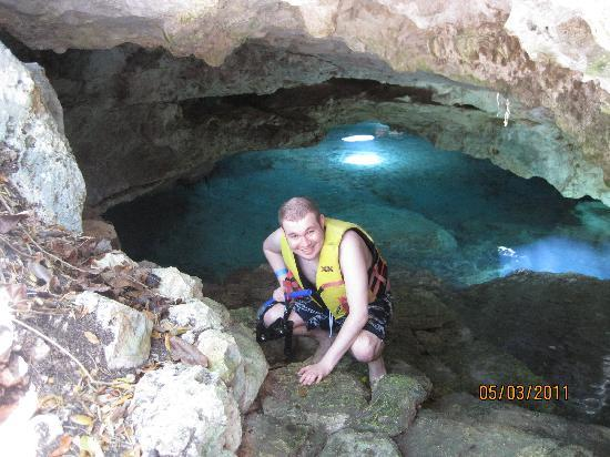 Riviera Maya, Mexique : First, smaller cenote