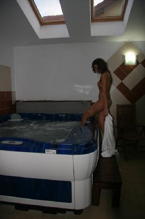 Casa Domneasca : jacuzzi