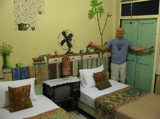 Phranakorn-Nornlen Hotel: Our double room.