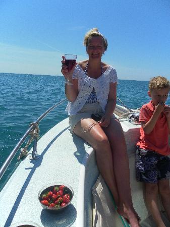 Alvor Boat Trips : cheers!