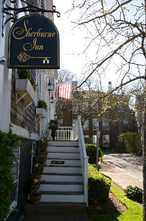 Entry-way to the Sherburne Inn