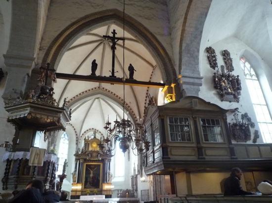Dome Church / St. Mary's Church: inside the dome church