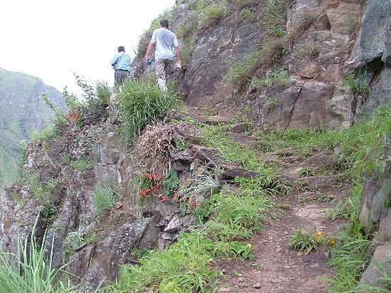 Yellow River: chemin de l'inca vers quellomayo
