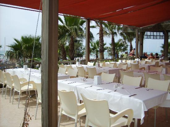 Hotel Terrace: Strandrestaurant