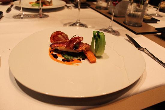 livraison rapide revendeur bas prix le menu gastronomique - Picture of Hostellerie du Chapeau ...