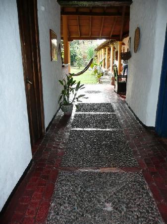Posada Altamira Caceres: entrée de la posada caceres