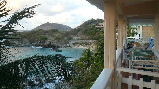 Auberge de la Petite Anse: View from the balcony