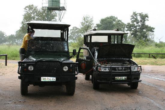 Livingstone Trails: survoltage de notre jeep