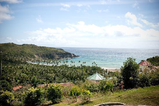 Zamaca Bed & Breakfast: Beautiful Fond Bay view from balcony