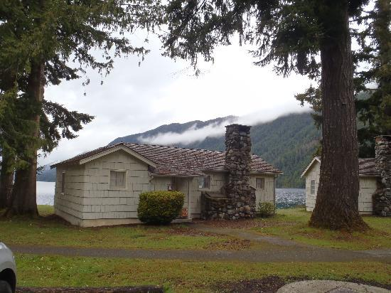 ‪‪Lake Crescent Lodge‬: One of the Roosevelt Cabins‬