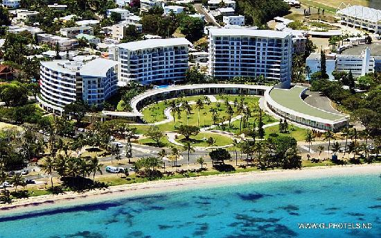 Hilton Noumea La Promenade Residences: Hôtel La Promenade Nouméa