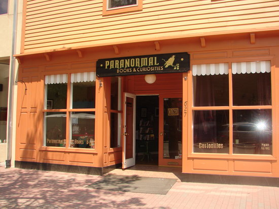Paranormal Books and Curiosities & Paranormal Museum