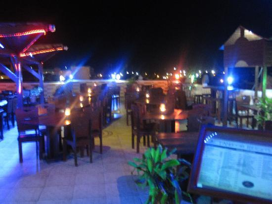Tandoori Heights: Rooftop view