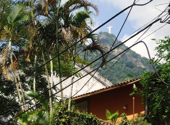 Bairro Cosme Velho: Barrio C.Velho,vista  al Corcovado.