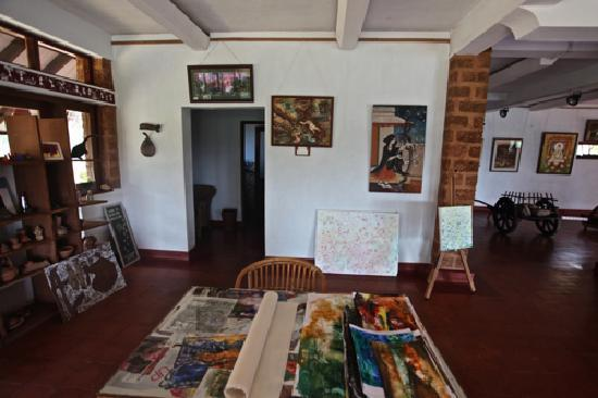 SwaSwara, Gokarna, Karnataka: Art by guests themselves