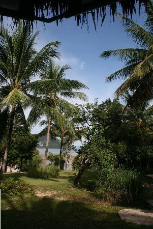Koh Yao Yai Village: View near the open air lobby