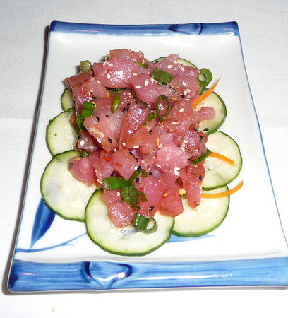 Fin's Grille and Raw Bar: Hawaian Poke Appetizer
