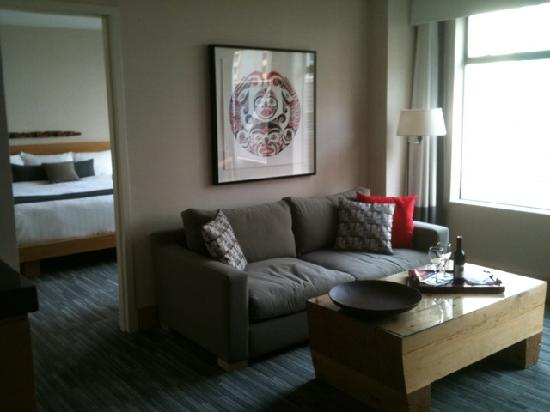 The Listel Hotel Vancouver: my suite