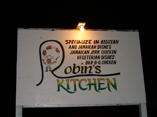 Robin's Kitchen: look for the sign