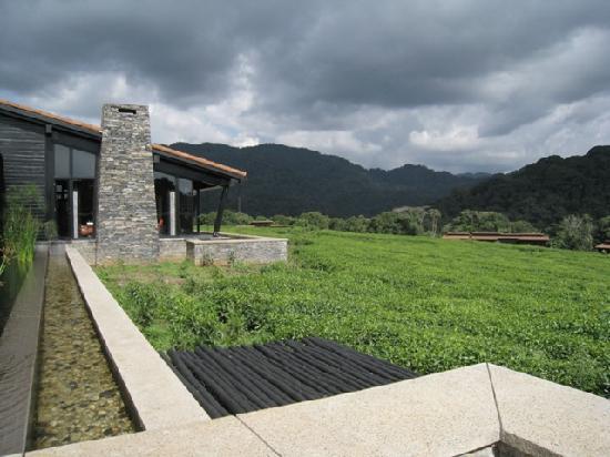 Gafunzo, Ruanda: Lodge reception centre