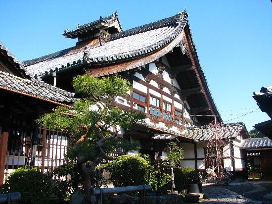 Shunkoin Temple Guest House: Main temple building