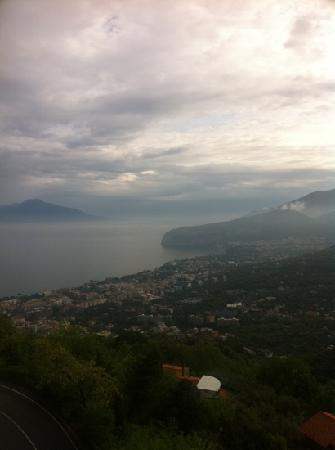 Villa Romita: view from balcony