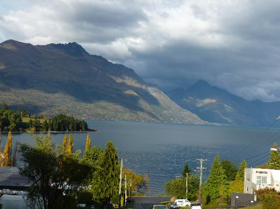 Alexis Queenstown Motor Lodge and Apartments : View from Alexis