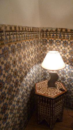 Riad Dar Tiflet: dartiflet chambre bleue RDC