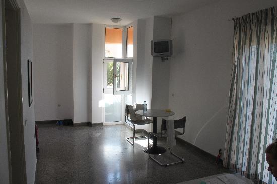 Alfa Apartments: Living room