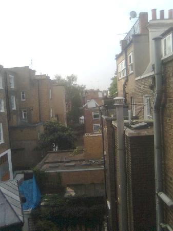 Notting Hill Hotel: View from the room 30