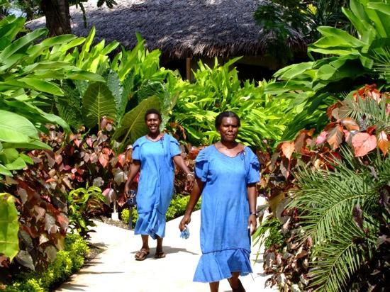 The Havannah, Vanuatu: staff