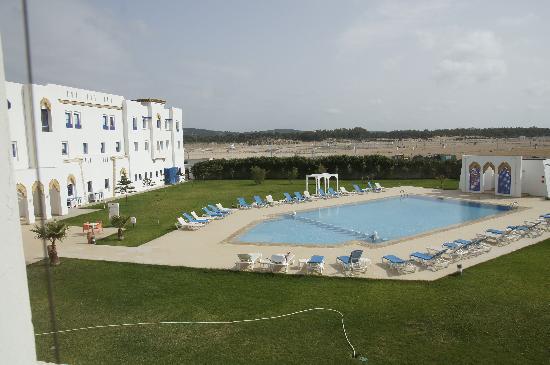 Moussafir Essaouira Hotel : piscina