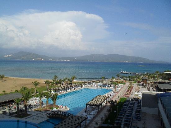 Venosa Beach Resort & Spa : view from balcony 1420