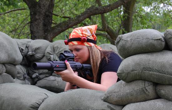 Adventure Sports in Hershey : Outdoor Laser Tag