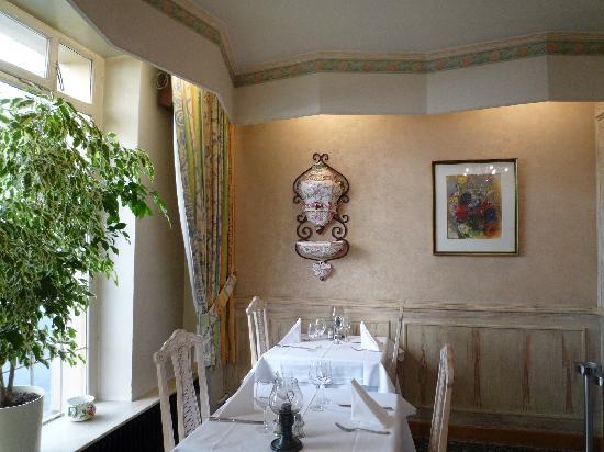 Hotel-Restaurant Italia: restaurant and breakfast area