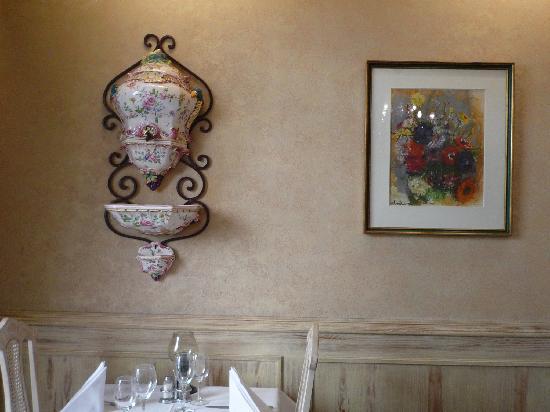 Hotel-Restaurant Italia: nice thing on the wall