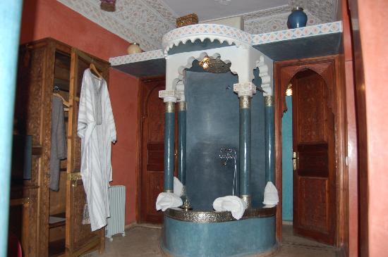 Riad Fatinat Marrakech: Die Dusche